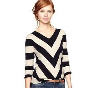 gap | chevron sweater.